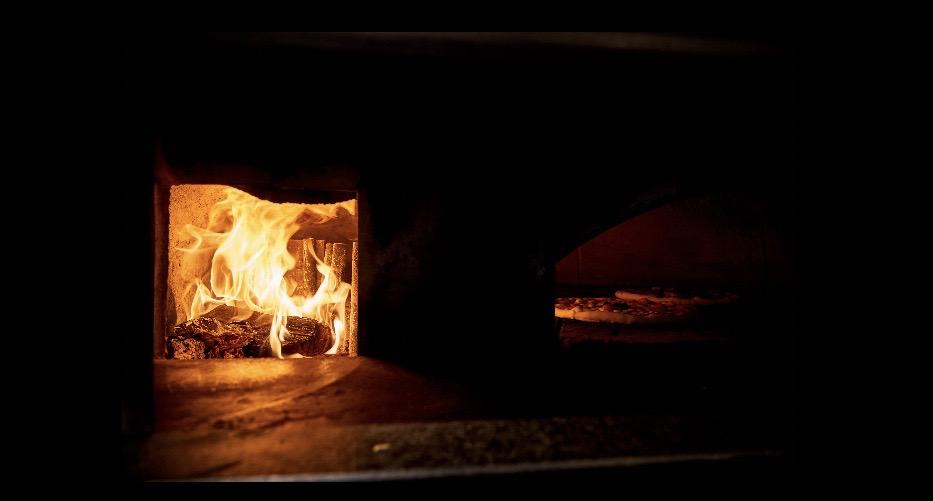 Pizza au four chez Gina