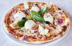 Pizza Mozzarella, Speck